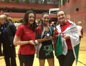 Emily, Sophie and Fern get medals at Netball Europe Camps